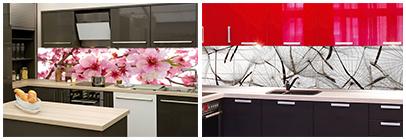 0e5598b8c0e4b Sklo je možné využiť ako: Zásteny na kuchynské linky ...