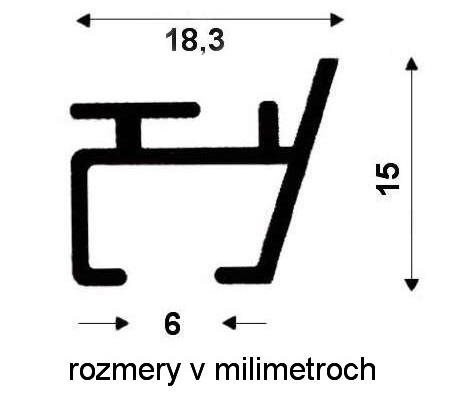 kolajnica lux schema profilu lišty