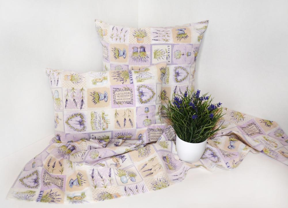 textilné obrusy v interiéri z kolekcie Dimex