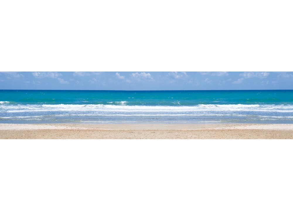 baef96d5e52 Fototapeta do kuchyne KI-260-090 Romantická pláž 60 x 260 cm (Obr ...