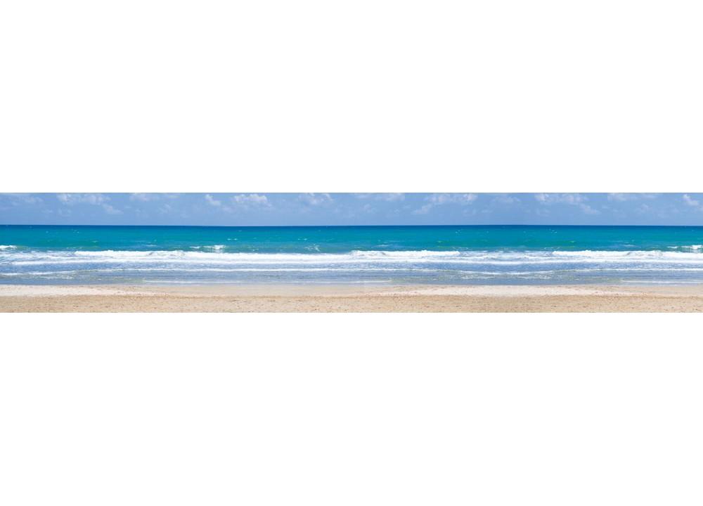9f058f9f24a Fototapeta do kuchyne KI-350-090 Romantická pláž 60 x 350 cm (Obr ...