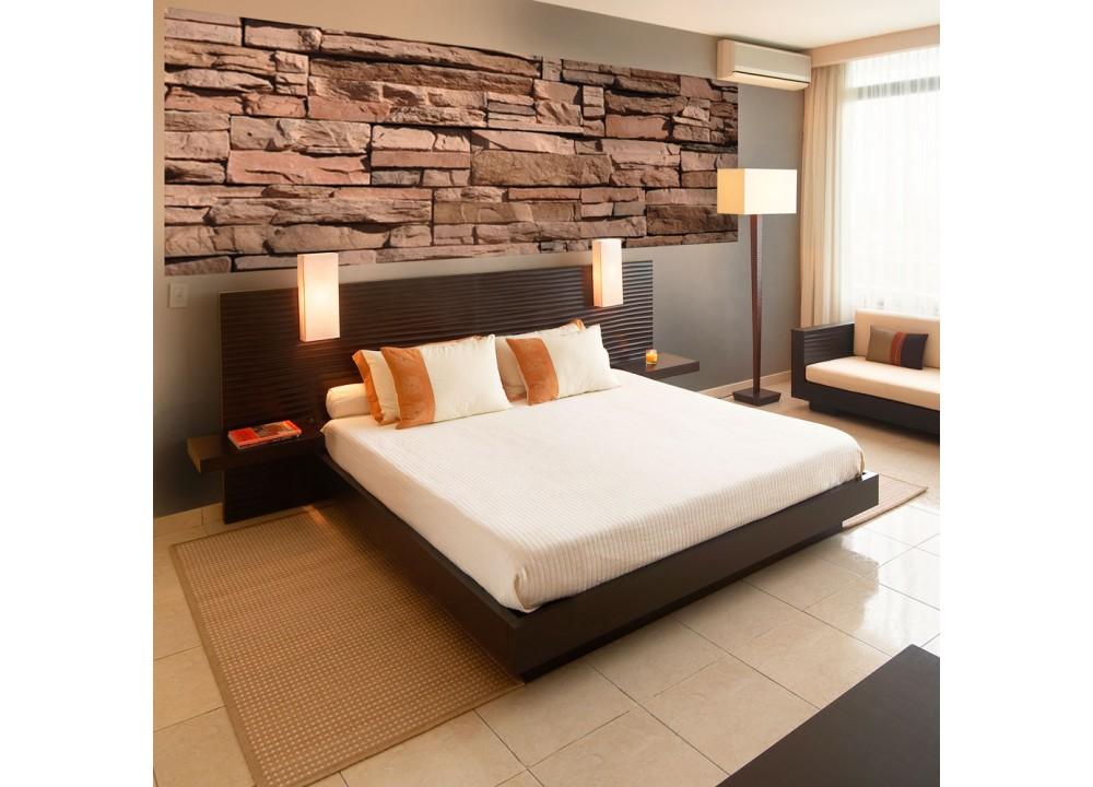 fototapeta m 141 panor ma kamene 330 x 110 cm. Black Bedroom Furniture Sets. Home Design Ideas