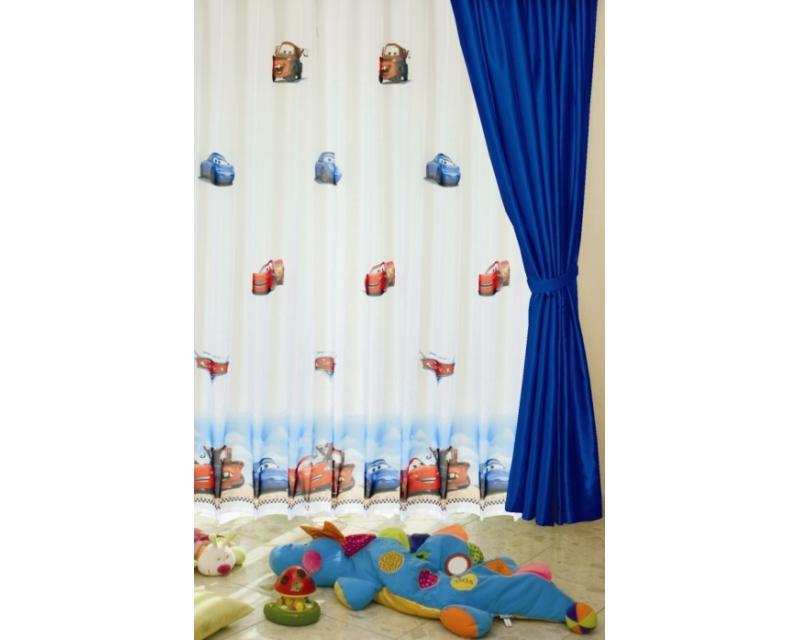 dffdbf07b496e Detské záclony na metre Auta, 11223, šírka 205 cm   Dimex.sk