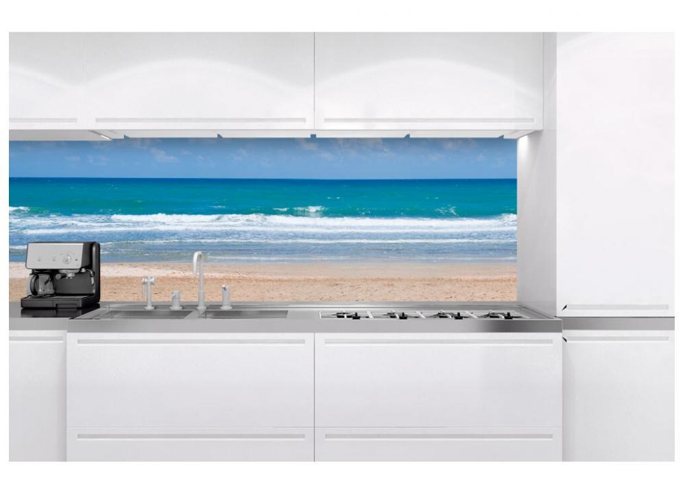 6fbeff3ff51 Fototapeta do kuchyne KI-180-090 Romantická pláž 60 x 180 cm